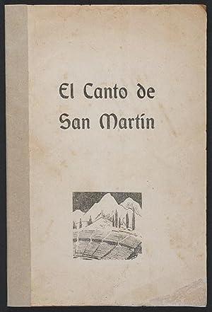 El Canto de San Martín : Epopeya Poético-Musical / con música de Julio Perceval: Marechal, Leopoldo