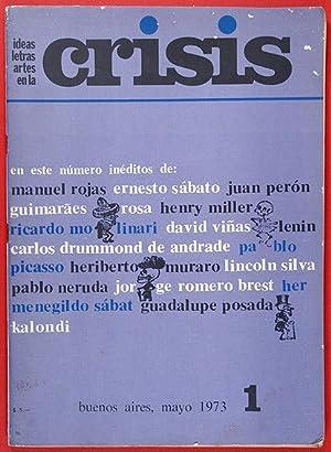 Revista ideas, letras, artes en la CRISIS.: Manuel Rojas &