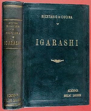 """Recetario de Cocina, Repostería y Pastelería """"Igarashi"""": Igarashi, Sinji"""