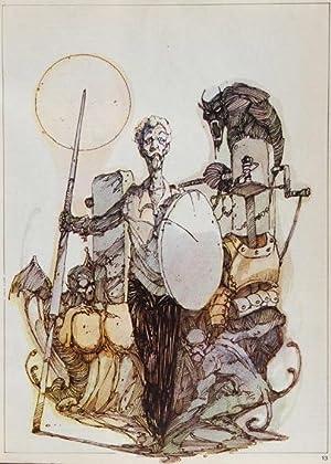 Don Quijote de La Mancha / Ilustraciones de Carlos Meglia Domingues: Cervantes Saavedra, ...