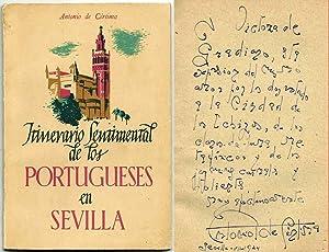 Itinerario Sentimental de los Portugueses en Sevilla: Cértima, António de