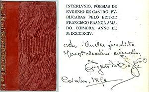 Interlúnio : Poesias / de Eugénio de: Castro, Eugénio de