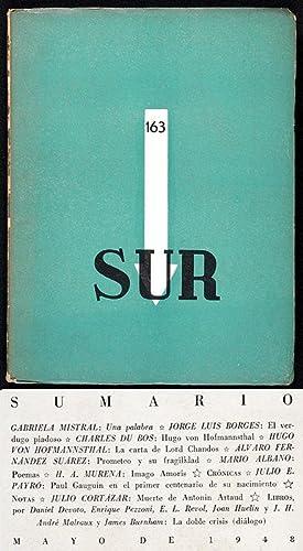 Revista SUR No. 163 Mayo 1948 : Gabriela Mistral &