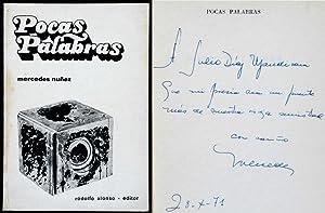 Pocas Palabras: Núñez, Mercedes, Illustrated