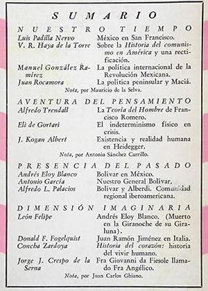 Revista Cuadernos Americanos. - Año XIV, 1955.: León Felipe &