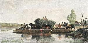 Crossing the River: VEYRASSAT, Jules Jacques