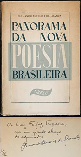 Panorama da Nova Poesia Brasileira. [grupo ORFEO]: Fernando Ferreira de
