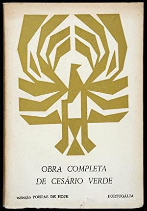 Obra Completa de Cesário Verde / Organizada,: Verde, José Joaquim