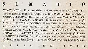 Revista SUR No. 126 Abr 1945 : Julien Benda &