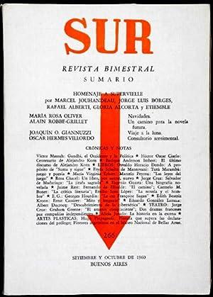 Revista SUR No. 266 Sep-Oct 1960. Jorge: Jorge Luis Borges