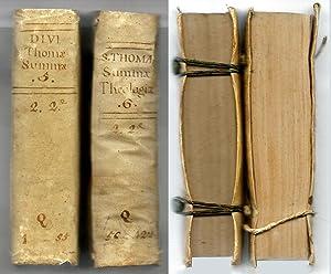 Summa Totius Theologiae. Secundae Secundae Partis, Volumen: S. Thomae Aquinatis