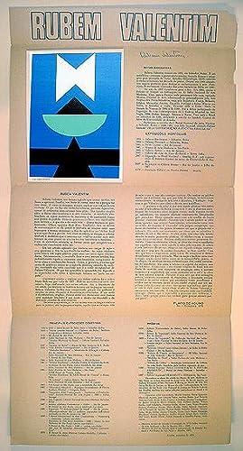Convite para a Exposição de 31 Objetos: Rubem Valentim (1922-1991)