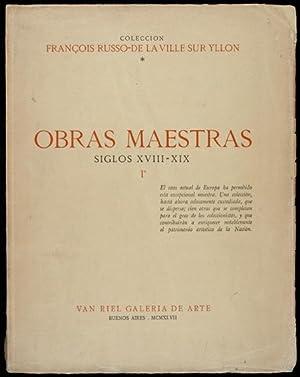 Catálogo Colección François Russo-De La Ville Sur Yllon. Obras Maestras siglos...