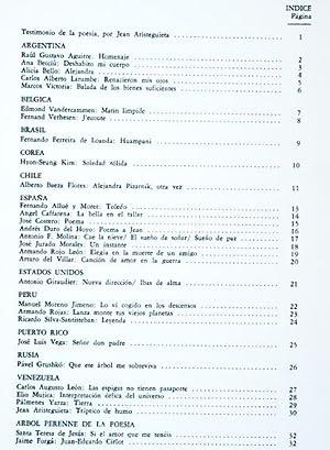 Revista ÁRBOL DE FUEGO : Poesía. No.65: Raúl Gustavo Aguirre