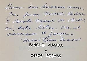 Pancho Almada y otros poemas: Marín, Juan José