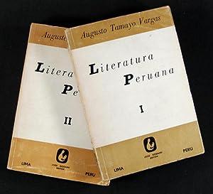 Literatura Peruana. - Tomo I [& Tomo II]: Tamayo Vargas, Augusto