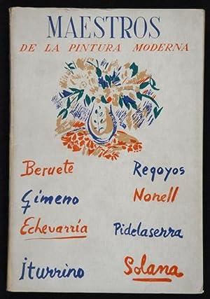 Maestros de la Pintura Española Contemporánea. Beruete,: Camón Aznar, José