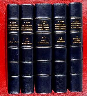 Bibliographie générale des oeuvres de Blaise Pascal.-: Maire, Albert &