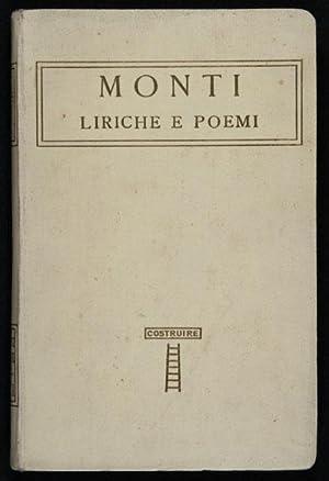Liriche e Poemi / Con la vita: Monti, Vincenzo