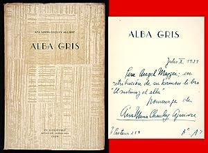 Alba Gris. 1929-1938: Chouhy Aguirre, Ana