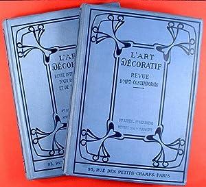 L'Art Décoratif : Revue Mensuelle d'Art Contemporain.: Collectif