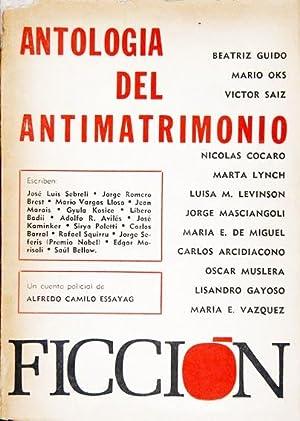 Antología del Antimatrimonio: Beatriz Guido &