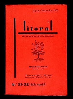 Litoral : Revista de la Poesía y: Juan Ramón Jiménez