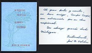 Acequias Nuevas, Aljibes Hondos: Oxholm López, José
