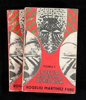 Poesía Anónima Africana: Martínez Fure, Rogelio,