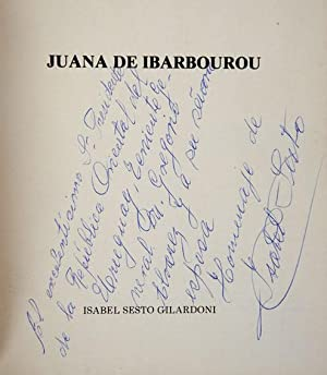 Juana de Ibarbourou: Sesto Gilardoni, Isabel