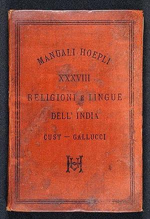 La Religione e le Lingue dell'India Inglese: Cust, Roberto