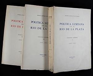 Política Lusitana en el Río de la Plata : Colección Lavradio. I. 1808-1809 &...