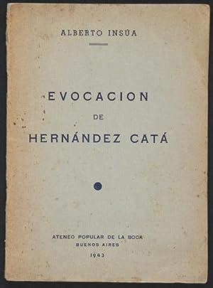 Evocación de Hernández Catá : Conferencia pronunciada: Insúa, Alberto
