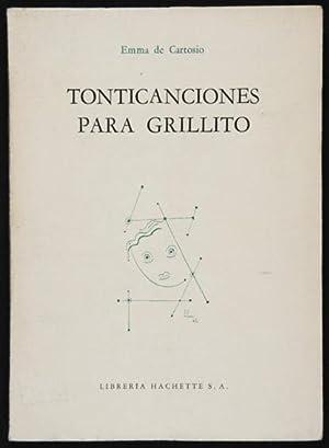 Tonticanciones para Grillito: De Cartosio, Emma,
