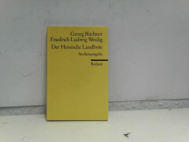 Der Hessische Landbote: Schaub, Gerhard, Georg