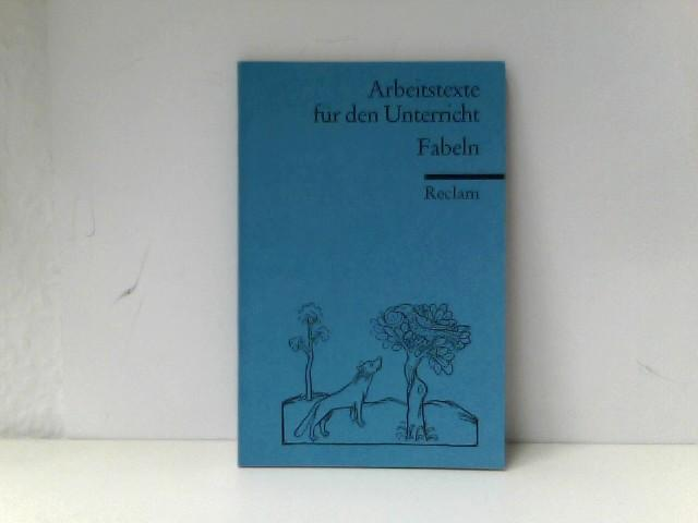 Fabeln: (Texte und Materialien für den Unterricht) - Therese, Poser