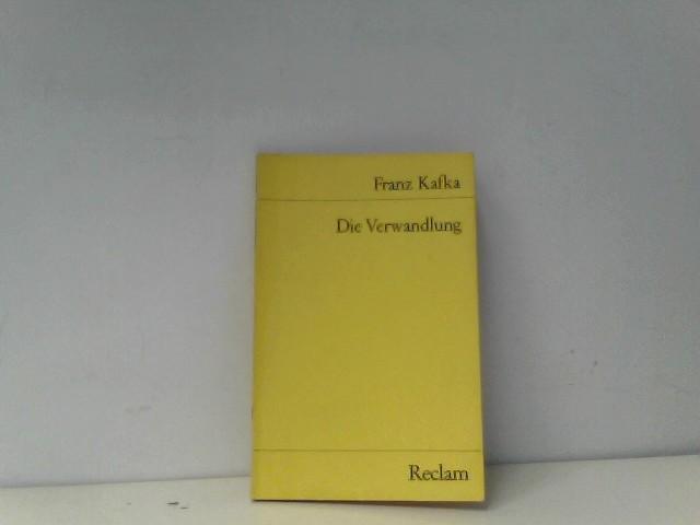 Die Verwandlung.: Franz, Kafka: