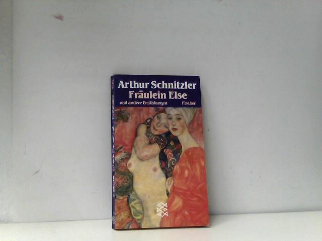 Fräulein Else und andere Erzählungen (Literatur): Schnitzler, Arthur:
