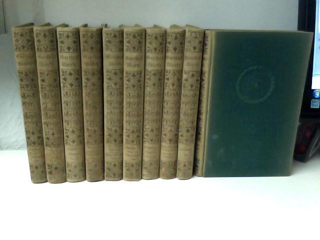 10 Bände Goethes Werke: von Goethe, Johann