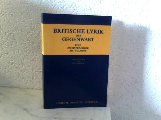 Britische Lyrik Der Gegenwart Eine