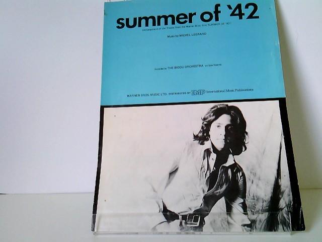 The Summer Of 42 Bücher Zvab