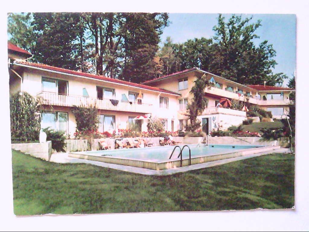 AK. Ambach am Starnberger See. Sanatorium.: Willi Huttig. Starnberg ...