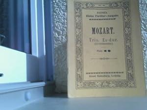 Mozart - Trio Es-dur Edition Eulenburg -