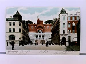 AK Helsingborg, Konung Oscar II.s terrasse; coloriert;