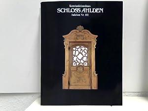 3 Auktionskataloge: Auktion Nr. 98 (Fr, 20.: Kunstauktionshaus Schloss Ahlden