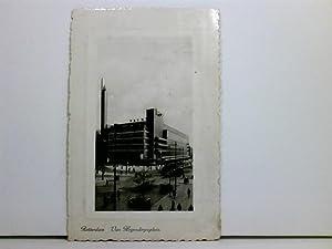 seltene AK Rotterdam, Van Hogendorpsplein; Warenhaus De