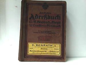 Mönchengladbach, Amtliches Adreßbuch für die Städte M.Gladbach: o.A.: