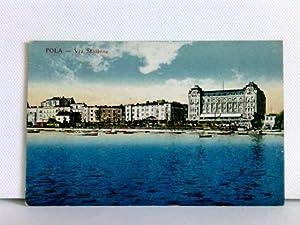 AK Pola - Via Stazione; K. u.