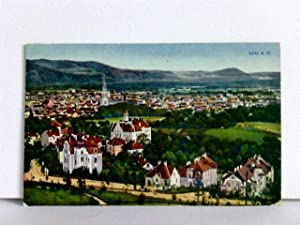 AK Linz a. D.; K.u.K. Zensurstempel; Feldpost