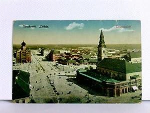 AK Kecskemet, Latkep; K. u. K. Regimentsstempel;